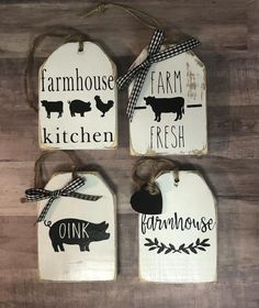 Country Farmhouse Decor, Country Crafts, Farmhouse Kitchen Decor, Farmhouse Chic, Kitchen Tray, Farmhouse Signs, Kitchen Ideas, Style At Home, Hollywood Regency