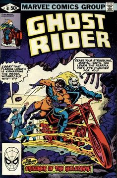 Cover for Ghost Rider (Marvel, 1973 series) #61 October 1981