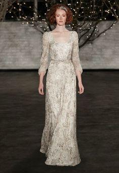 Jenny Packman wedding dress. Vestidos de Jenny Packman.