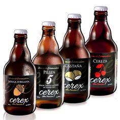 CERVEZA ARTESANA CEREX PACK 4 SABORES 20ud Mejor Cerveza Artesana España 2015