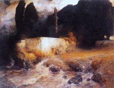 Ferdinand Keller - Neptune's Shrine