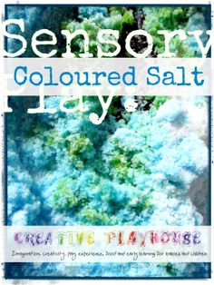 Sensory Coloured Salt. How to Make and Use.