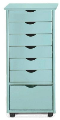 Home Decorators Collection Stanton 6 1 Drawer Storage Cart
