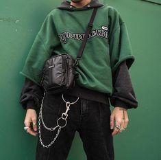 9 Wondrous Cool Ideas: Urban Fashion For Men Awesome urban fashion male pants.Urban Fashion Outfits Woman Clothing urban wear for men ray bans. Komplette Outfits, Grunge Outfits, Grunge Fashion, Look Fashion, Fashion Models, Fashion Outfits, Urban Fashion Men, Urban Street Style Fashion, Diy Fashion Mens