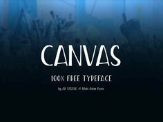 Canvas - Free Condensed Font by Af Studio Creative Typography Design, Creative Fonts, Free Typeface, Typography Fonts, Pretty Fonts, Beautiful Fonts, Best Free Fonts, Font Free, Learn Web Design
