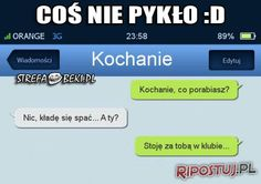 Funny Sms, Very Funny Memes, Funny Messages, Wtf Funny, Polish Memes, Im Depressed, Happy Photos, More Than Words, Funny Comics