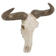 DecMode Steer Skull Wall Sculpture - 44736