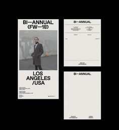Bi-annual is a visual inspiration brought to you by Abraham Campillo and Casey Hinders, based out of Los Angeles, California. The two specialize in photography, styling, and creative conceptual pieces that are a reflection of the things th… Print Layout, Web Layout, Layout Design, Web Design, Book Design, Print Design, Editorial Layout, Editorial Design, Layout Inspiration