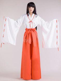 Kikyō cosplay costume~ #InuYasha #Cosplay