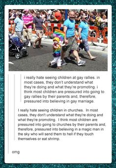 Truth. So much truth in the second comment. Pray For Venezuela, Haha, Religion, Faith In Humanity Restored, Equal Rights, Found Out, Tumblr Funny, Equality, Just In Case