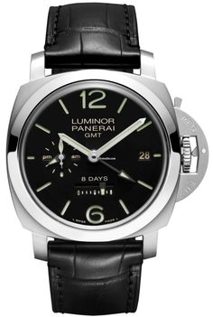 沛納海 (Panerai) [NEW]Luminor 1950 8 Days GMT 44mm PAM 233 (Retail:HK$96,500) ~ SPECIAL OFFER: HK$70,800.