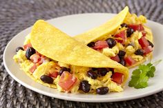 Hungry Girl's Healthy Easy A.M. Breakfast Soft Tacos Recipe