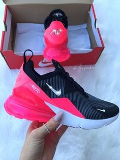 a3e9c512fa04d Brand New in Box Authentic Blinged Womens Girls Nike Air 270 Running Shoes.  Nike