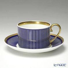 フラックスストークオントレントSolasティーカップ&ソーサー220ml(ゴールド)