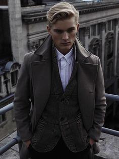 fashionwear4men:  Reiss Autumn/Winter 2013 True to Form Men's Lookbook http://mensfashionworld.tumblr.com/post/63978233959