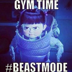 Can't beat an early morning gym session!