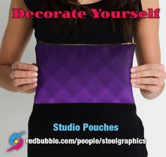Studio Pouches by Steel Graphics