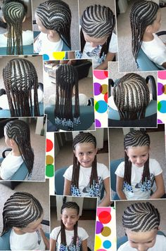 cornrows with beads Baby Girl Hairstyles, Natural Hairstyles For Kids, Ethnic Hairstyles, Pretty Hairstyles, Braided Hairstyles, Natural Hair Styles, Little Girl Braids, Braids For Kids, Girls Braids