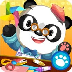 Art Class with Dr. Panda by Dr. Panda Ltd Panda Icon, Panda Art, Learning Apps For Toddlers, Abc Mouse, Iphone, Craft Activities, Kite, Unique Art, Free Apps