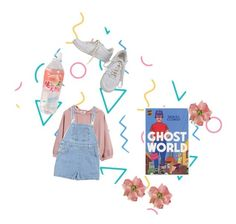"""""""ghost world with ghost girls"""" by arcticmxlum ❤ liked on Polyvore featuring Chicnova Fashion and NIKE"""
