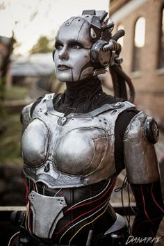 This is my Adjutant for StarCraft I have wanted to make this character for so long and I'm really happy with the result. Adjutant Cosplay from StarCraft 2 Robot Costumes, Cosplay Costumes, Halloween Costumes, Clever Costumes, Costume Ideas, Cyborg Costume, Female Cyborg, Look At My, Starcraft 2
