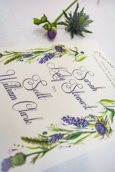 perfect for couples who love florals and available in a few different ways! Check out Romilly at The Little Paper Shop! Wedding Themes, Wedding Styles, Wedding Decorations, Floral Wedding, Rustic Wedding, Lifestyle Store, Creative Studio, Greenery, Florals