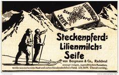 Original-Werbung/ Anzeige 1907 - STECKENPFERD LILIENMILCH SEIFE - ca. 140 x 80 mm