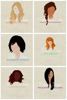 Percy Jackson | female characters