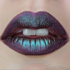 Abigail Cauchi added dimension to her lip look using Makeup Geek Pigment in Insomnia! #makeupgeekcosmetics