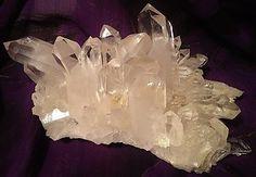 Collector or Museum Arkansas Quartz Crystal Cluster, Natural Masterpiece!