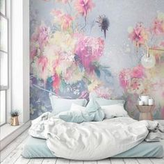 Paint & Gilt Wall Mural | Teenager's Room | by Back to the Wall - Back To The Wall