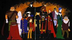 """Galaxy Express 999 -- the first Anime movie I ever say (stayed home from School sick one day in the early 1980s and it was on my Aunt's satellite channels. Having been a fan of """"Battle of the Planets"""" I watched it beginning to end, possibly without blinking, and actually felt a lot better when it was over.)"""