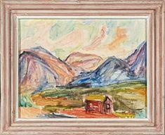 Gøsta Munsterhjelm, Støl i Valdres eller Halli... / Maleri / Nettauksjon / Blomqvist - Blomqvist Kunsthandel Paintings, Art, Art Background, Paint, Painting Art, Kunst, Performing Arts, Painting, Painted Canvas