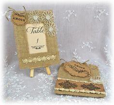 Burlap Wedding Decor ~ GD for Something Tattered - Scrapbook.com