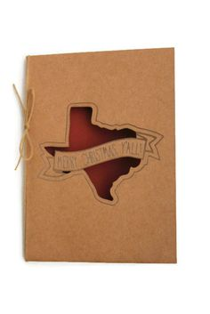 texas greeting card merry christmas yall southren holiday card holiday cards