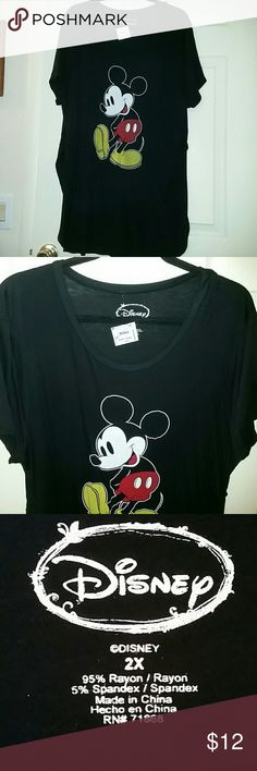 Plus size NWT Disney pajama dress Mickey  mouse print, Disney Intimates & Sleepwear Pajamas