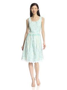 KAS New York Women's Embroidered Dress with Cutout, http://www.myhabit.com/redirect/ref=qd_sw_dp_pi_li?url=http%3A%2F%2Fwww.myhabit.com%2Fdp%2FB00RBJ8SKW%3F