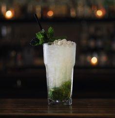 Cucumber, Basil & Lime Gimlet Cocktail Recipe
