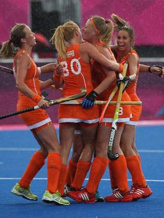 Dutch hockey team @ 2012