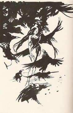 I have an art :Claire Wendling
