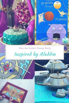 Tips To Plan An Aladdin Theme Party Inspired By Disneys