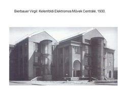 Budapest, Kelenföldi Elektromos Centrálé, 1930. / Bierbauer Virgil Art Nouveau, Art Deco, Budapest Hungary, Modernism, Bauhaus, Old Photos, History, Architecture, Beautiful