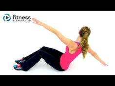 HIIT Cardio and Abs Workout - 30 Minute At Home HIIT Workout with Abs Exercises - YouTube
