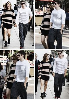 Don't love that they're together, but you have to notice that swag he has! Love it.