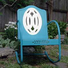 motel chair - want for my front porch!