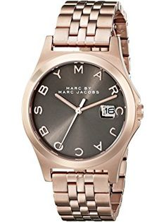 Marc by Marc Jacobs Women's MBM3350 Rose Gold-Tone Stainless Steel Bracelet Watch ❤ Fossil Watches