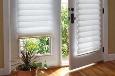15 Brilliant French Door Window Treatments French Door