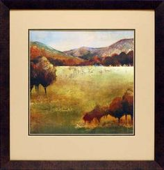 North American Art Wholesale Fine Framed Art Print Colour of Fall II
