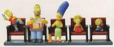 The Simpsons Movie Theater Figure Set - Set of 5 Vending Machine Toys http://order.sale/crfh (via Amazon)
