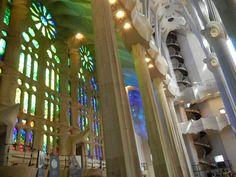Colors in Sagrada Familia